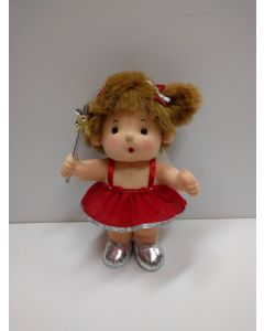"Peppermint Doll ""Angel"" in Red Dress."