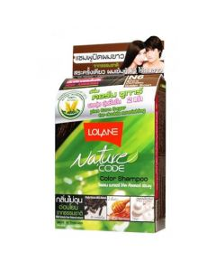 Lolane Nature Code N6 Golden Brown Color Shampoo (10 ml)