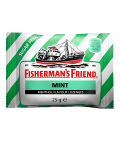 Fisherman's Friend Mint Flavor Sugar Free Lozenges (25g)